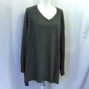 Faded Glory Pull Over in Charcoal Gray Size 4X